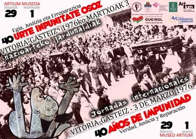 3 de marzo de 1976: 40 años de plena impunidad