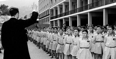 Los niños durante el franquismo